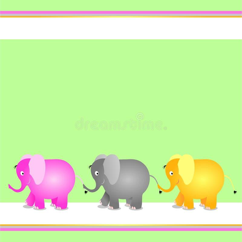Formulário decorativo para crianças ilustração stock