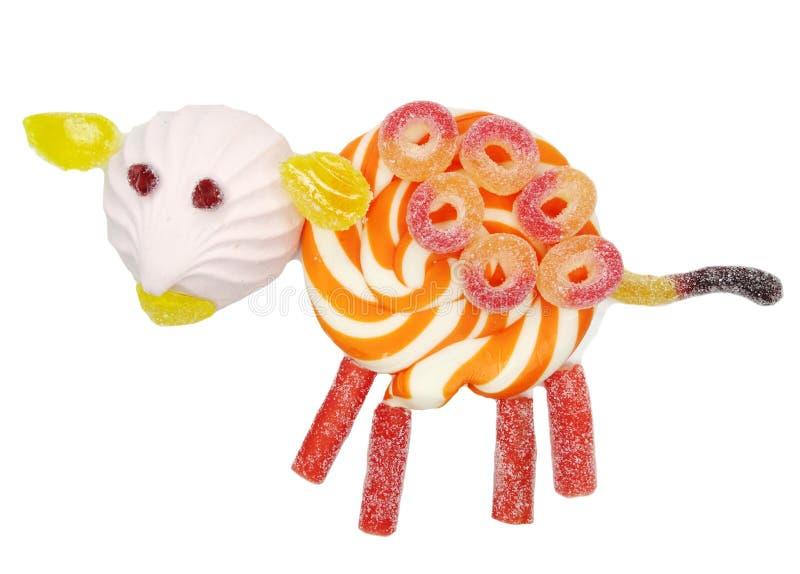 Formulário doce criativo do navio do alimento da geleia de fruto do doce de fruta fotografia de stock royalty free
