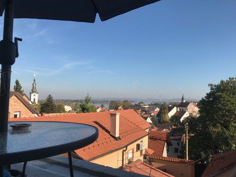 Formulário Gardos da vista bonita, Zemun imagens de stock royalty free