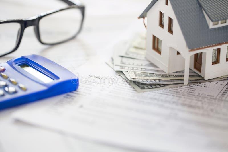 Formulários de imposto imagem de stock royalty free