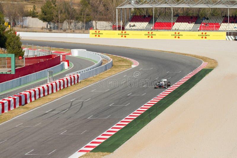 Formula 1 circuit royalty free stock photos