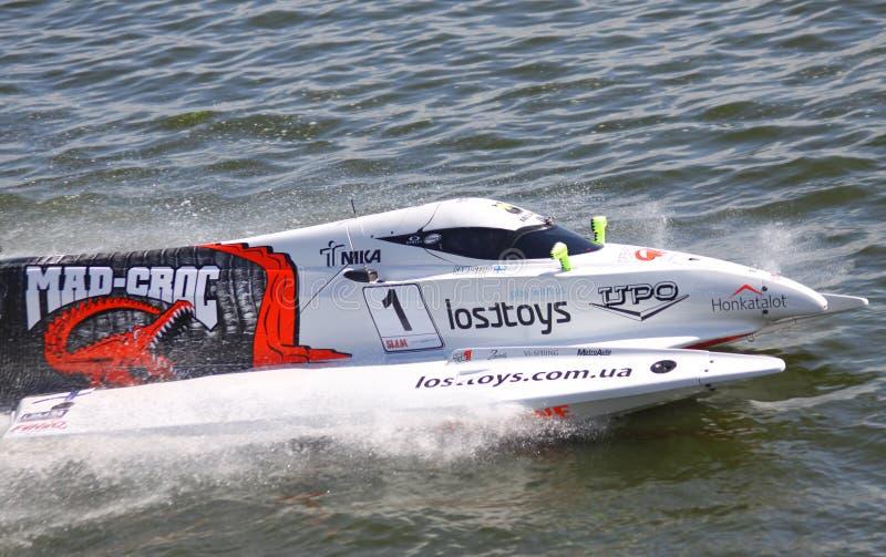 Formula 1 H2O Powerboat GrandPrix Editorial Photo