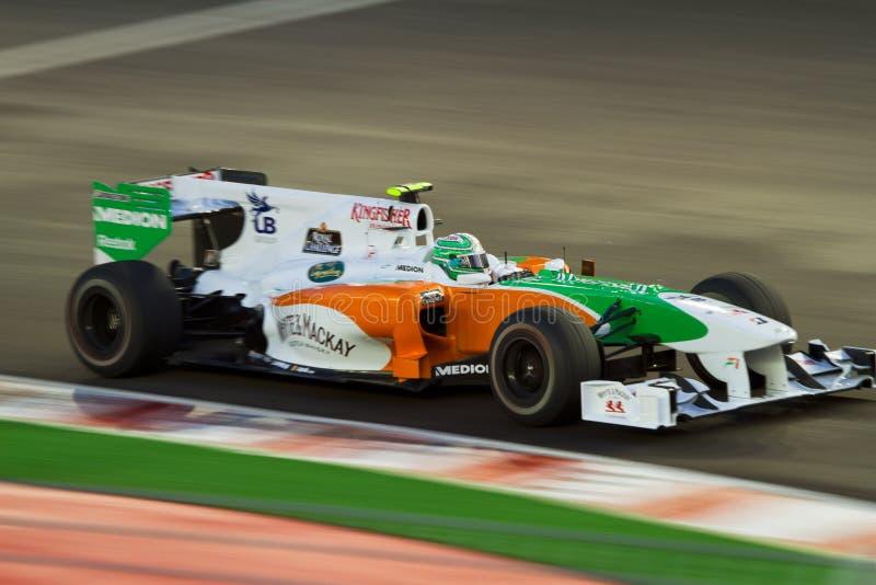 Formula 1 Singapore royalty free stock photography