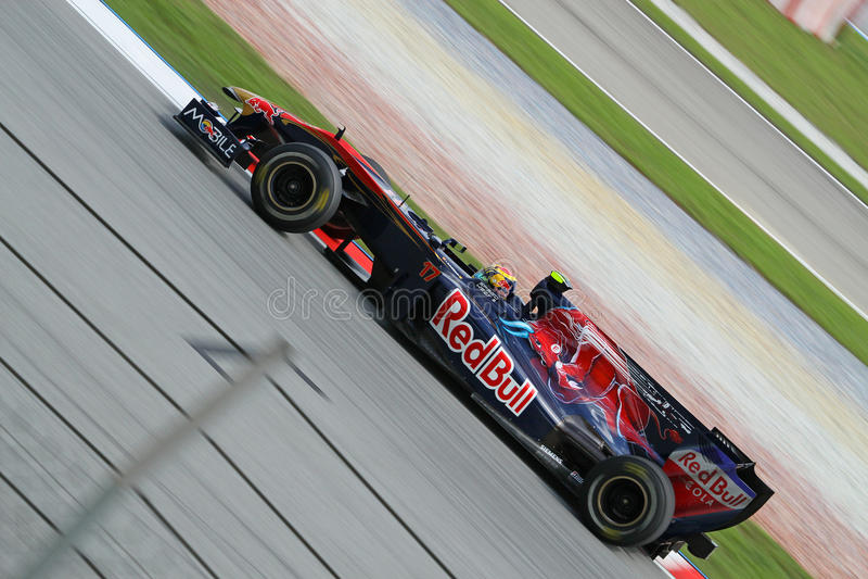 Formula 2010 1 - grande Prix malese 14 immagine stock