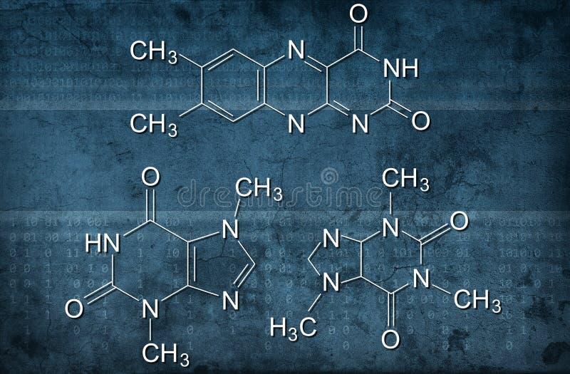 Formula chimica illustrazione vettoriale