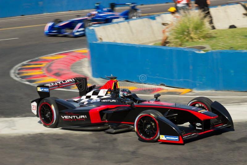 Nick Heidfeld. Formula E - Nick Heidfeld - Venturi Team royalty free stock photo