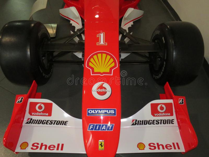 Formula 1 Front Wing stock images