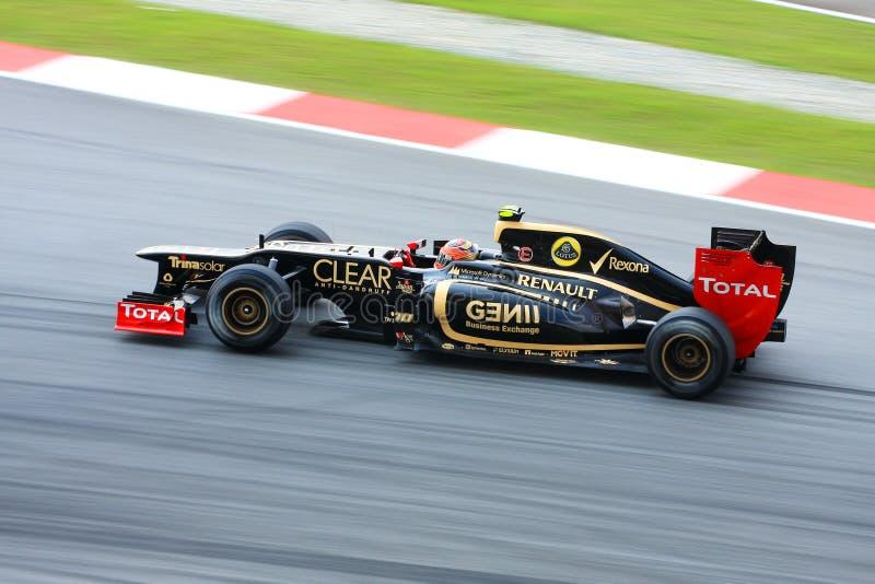 Formula one 2012 stock photo