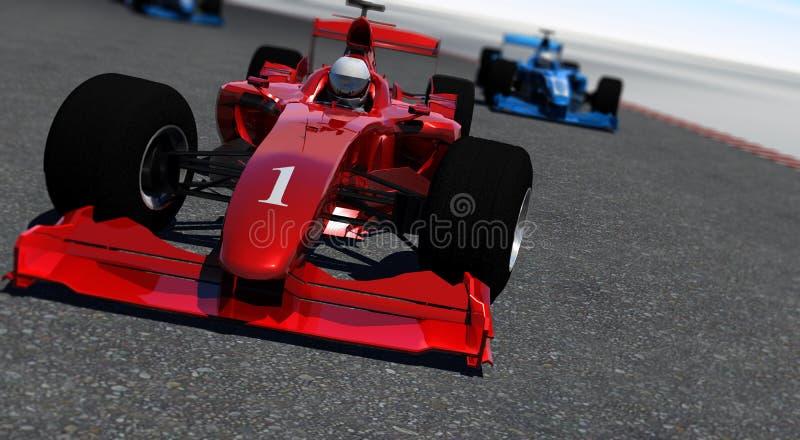 Formula One royalty free illustration