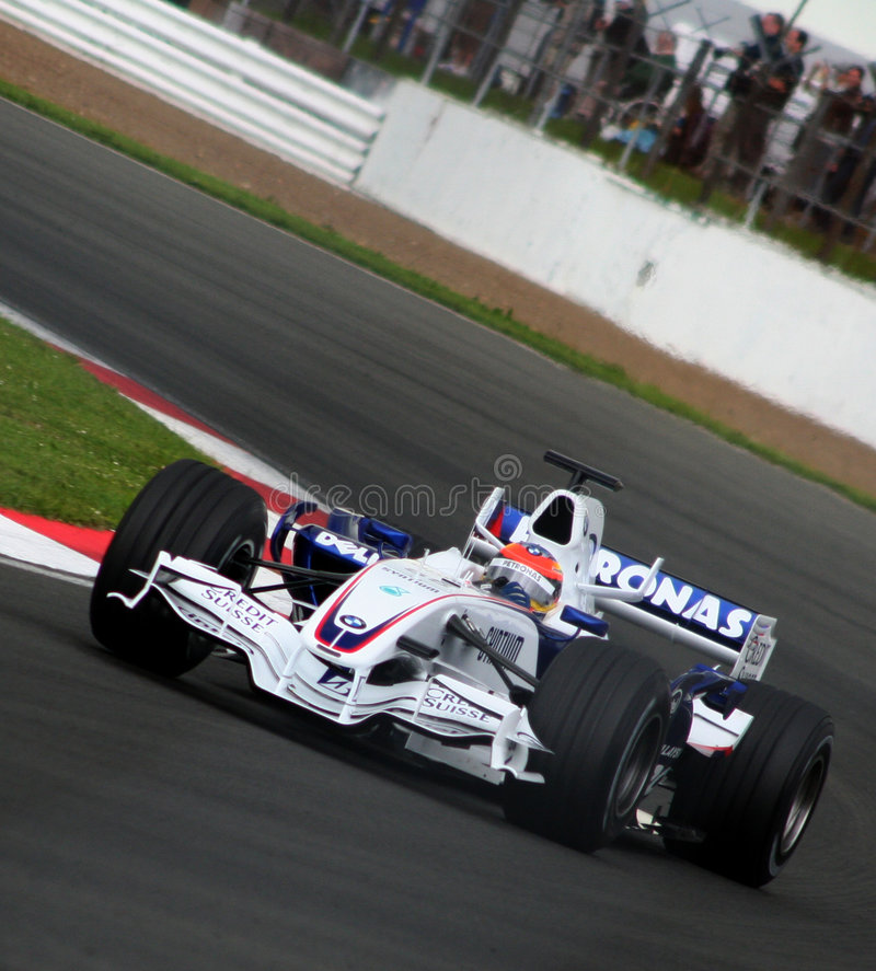 Free Formula One, Bmw Sauber Royalty Free Stock Photo - 4521625