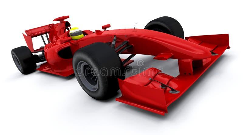 Formula one car royalty free illustration