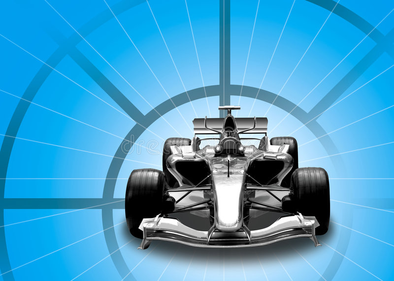 Download Formula one car stock photo. Image of time, silver, automobile - 2680426