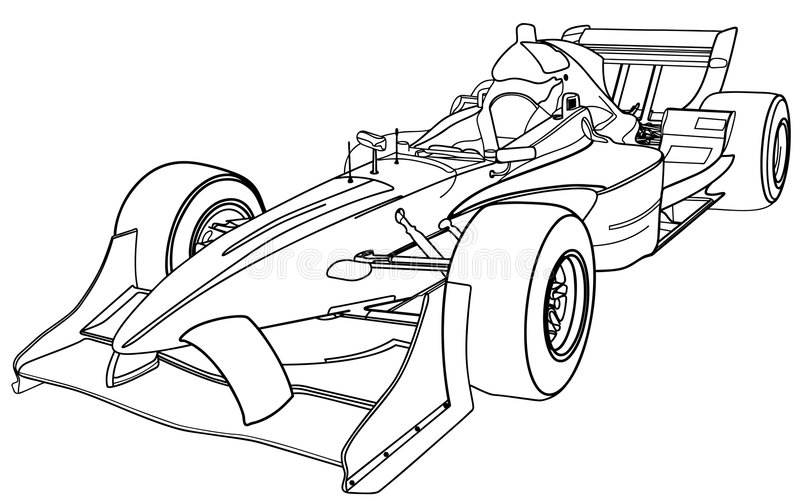 Kleurplaat Formule 1 Red Bull 2017 Formula One Car Stock Vector Illustration Of Illustration