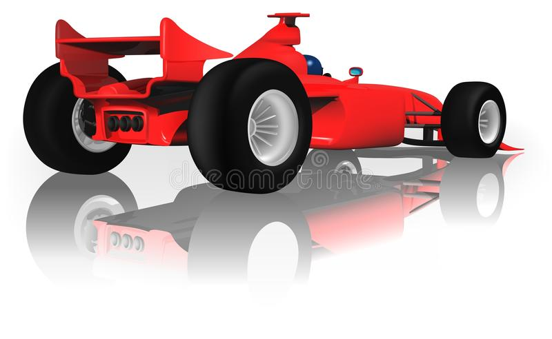 Formula One royalty free illustration