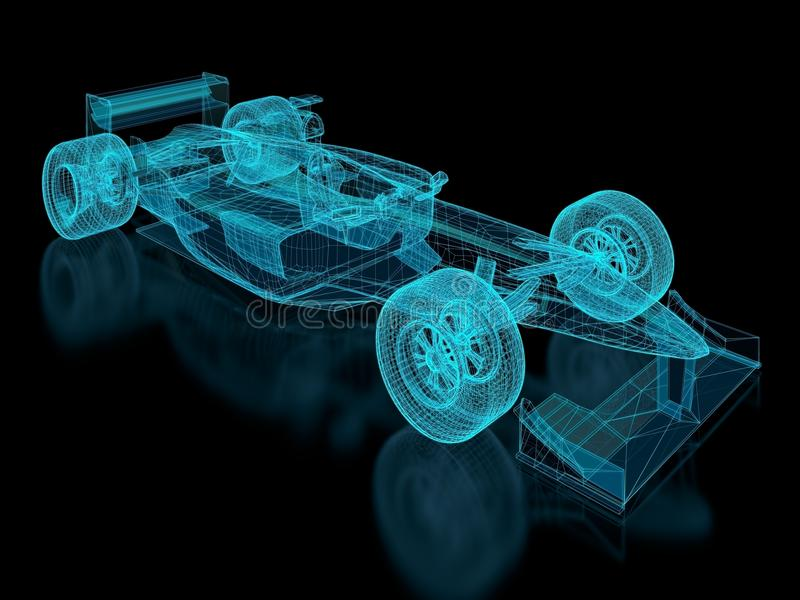 Download Formula One Mesh stock illustration. Illustration of motor - 27914476
