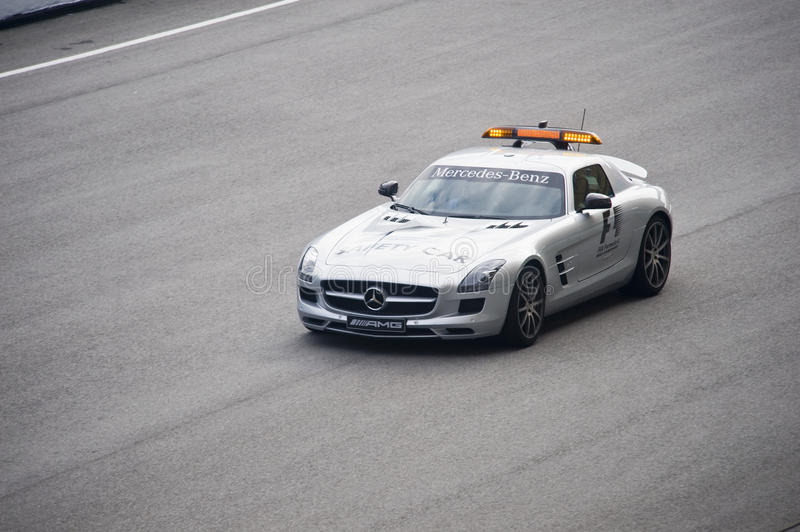 Download Formula One Safety Car Editorial Stock Image - Image: 13823764