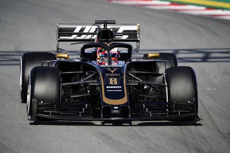 Formula One test stock photos