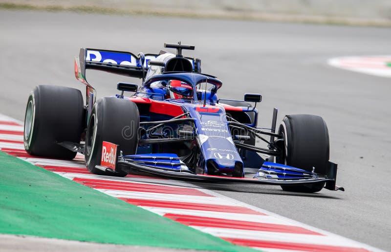 Formula One Test Days 2019 - Danil Kvyat stock images