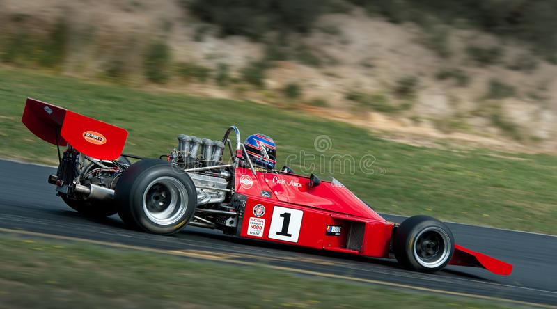 Formula 5000 Race Car - Talon MR1A -3 stock images
