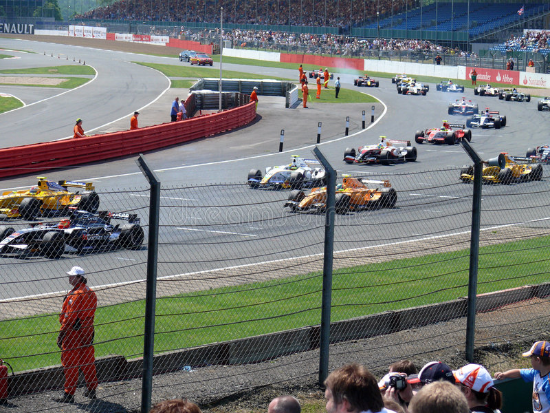 Formula Renault 3.5 fotografie stock libere da diritti