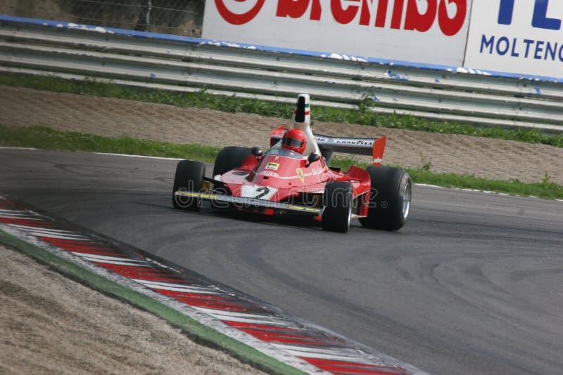 Formula storica 1 fotografia stock