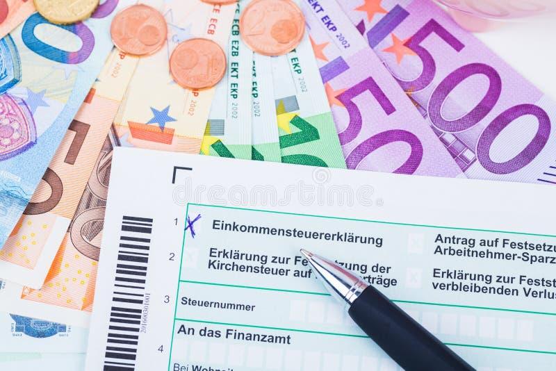 formularzowy podatek zdjęcia stock