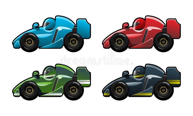 Formule 1 illustration stock