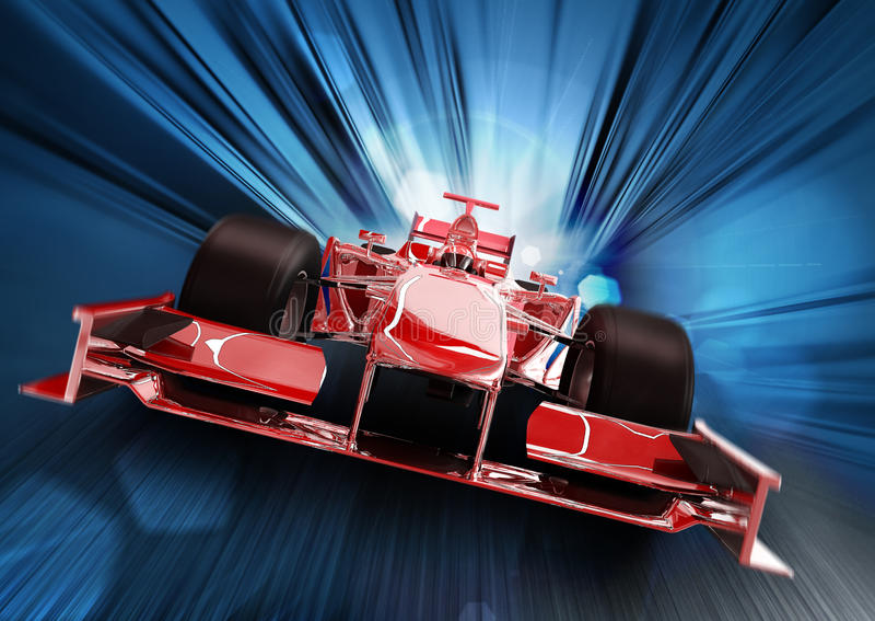 Formule 1 illustration de vecteur