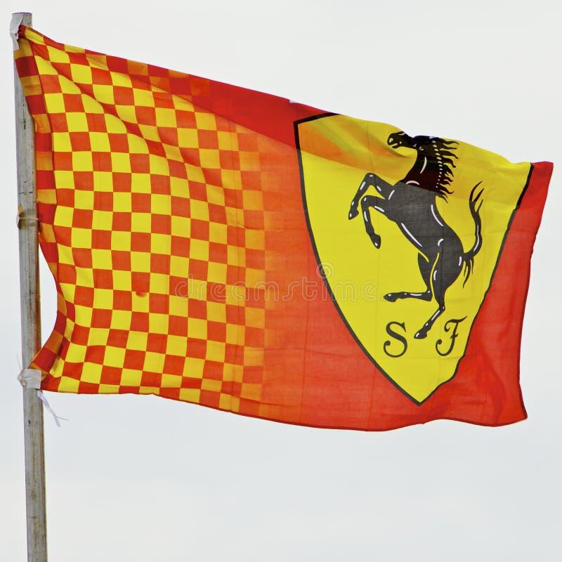 Formule 1 2010, indicateur de Melbourne de Ferrari images stock
