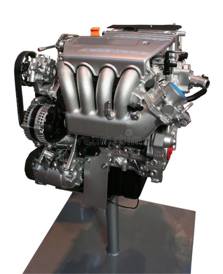 Formule 1 motor stock afbeelding
