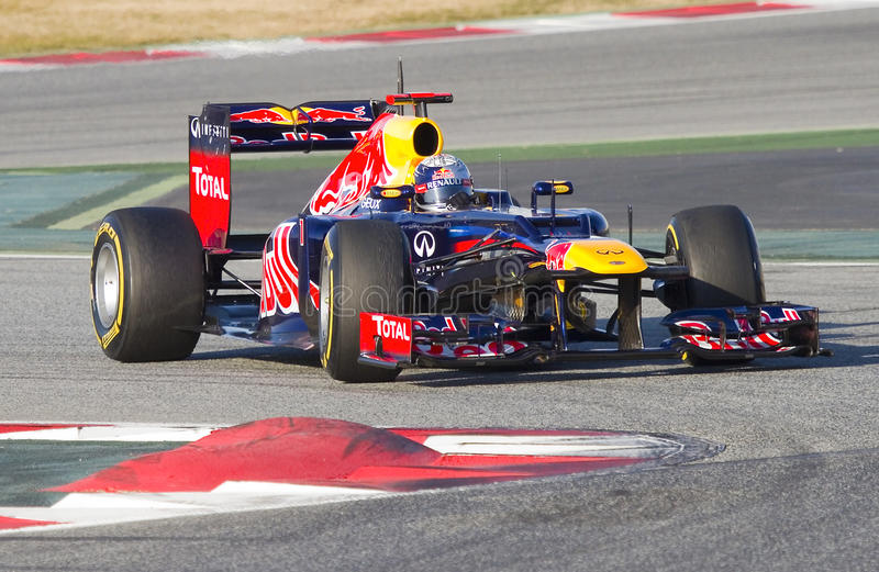 Formule 1 - Sebastian Vettel photos libres de droits