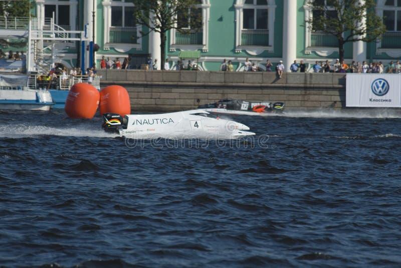 Formule 1 sur l'eau, généraliste Russie photographie stock libre de droits