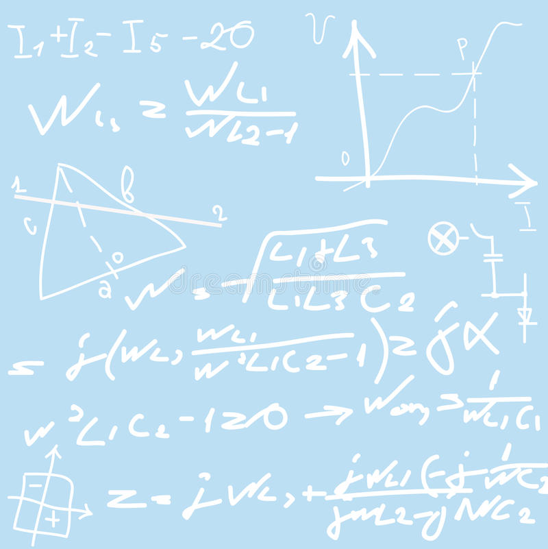 Formule illustrazione vettoriale