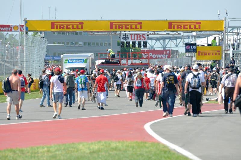 Formule 2012 1 Prix grand canadien images libres de droits