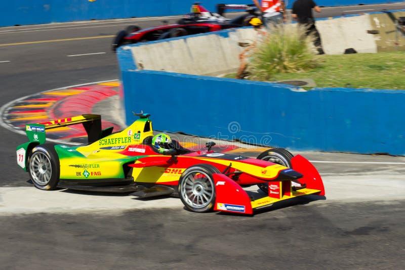 Formule E - Lucas Di Grassi - Audi Sport ABT royalty-vrije stock fotografie