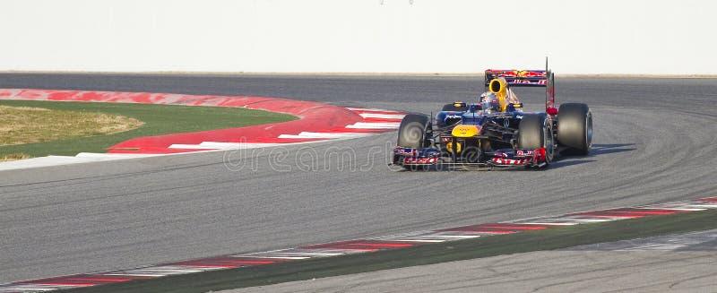 Formule 1 - Red Bull photo libre de droits