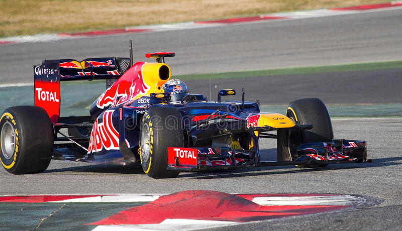 Formule 1 - Red Bull image stock