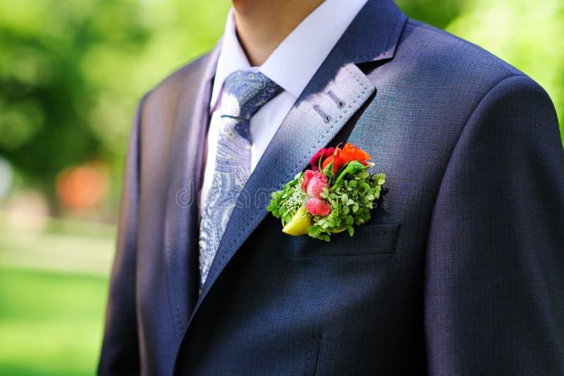 Fornala buttonhole zdjęcie royalty free