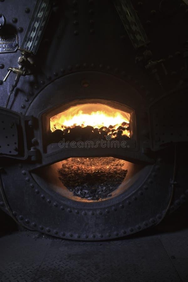 Fornalha de carvão foto de stock royalty free