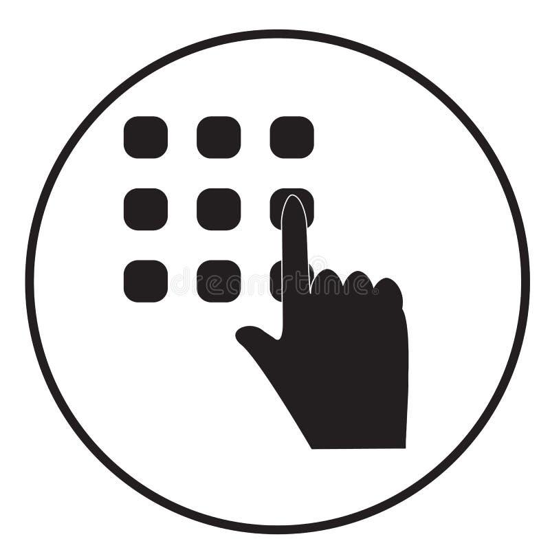 Fornisca l'icona di codice su fondo bianco Stile piano icona per la vostra progettazione del sito Web, logo, app, UI di codice di illustrazione vettoriale