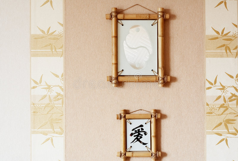 Fornisca nello stile giapponese fotografie stock
