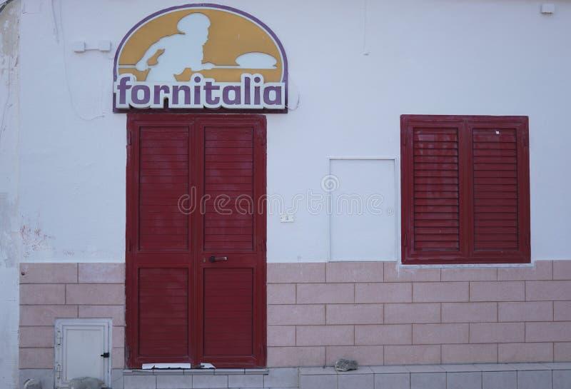 Fornitalia, panadería italiana imágenes de archivo libres de regalías