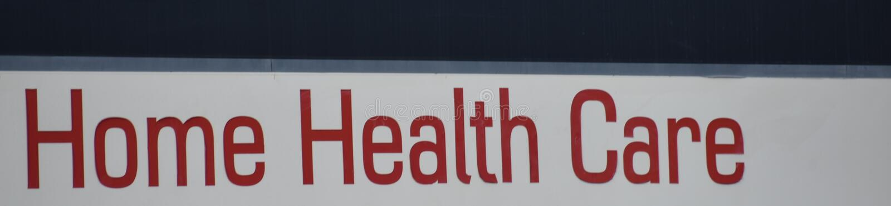 Fornitore di cure mediche per nella sanità domestica fotografia stock libera da diritti