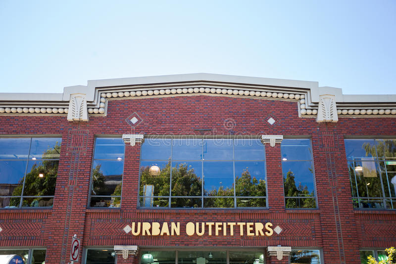 Fornitori urbani Portland Oregon fotografia stock