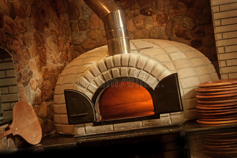 Forno da pizza foto de stock royalty free