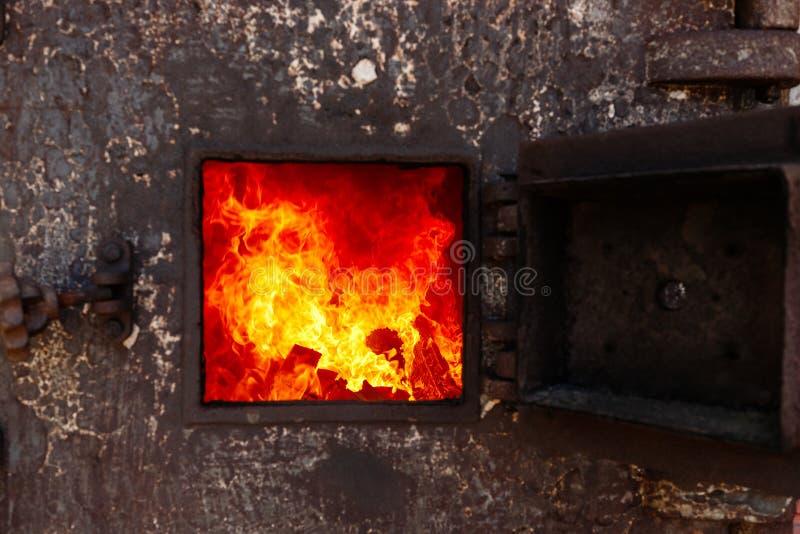 forno de crematório tailandês fotografia de stock