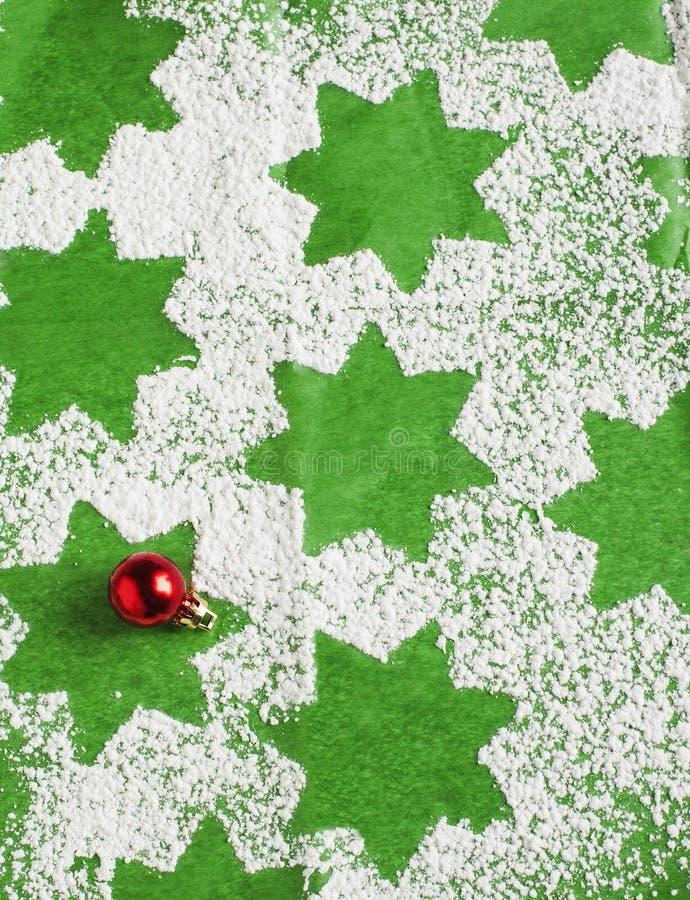 Forno dolce Fondo astratto dell'alimento di Natale fotografie stock