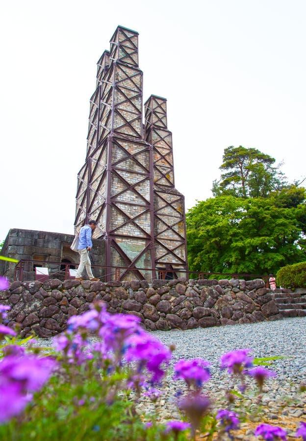 Forno a riverbero di Nirayama immagine stock