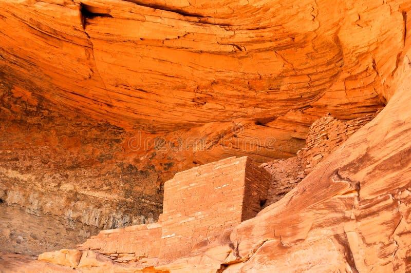 Forntida Anasazi by royaltyfria foton
