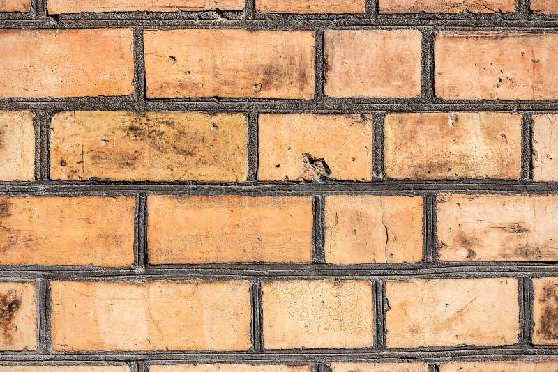Forntida antik textur för tegelstenvägg royaltyfri fotografi